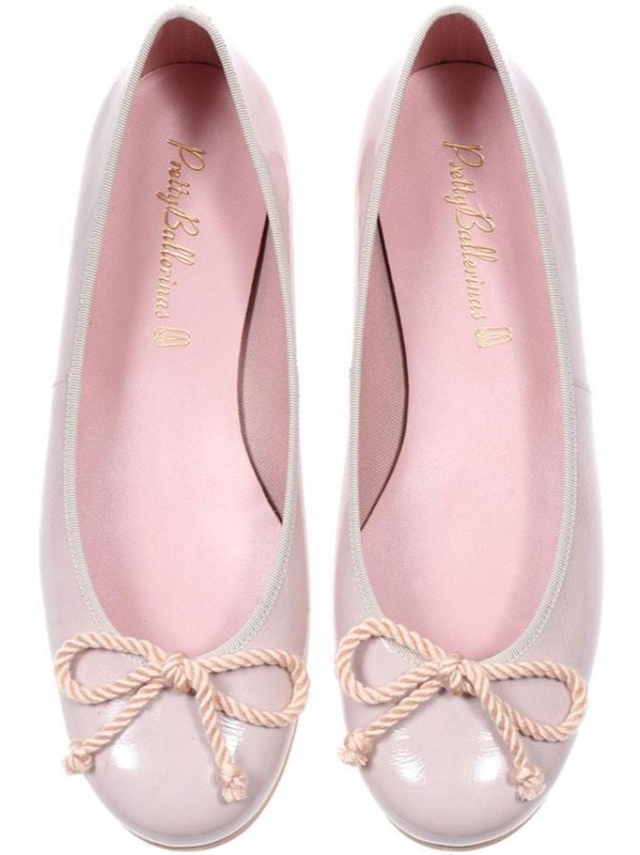 Rosario|ורוד|נעלי בובה|נעלי בלרינה|נעליים שטוחות|נעליים נוחות|ballerinas