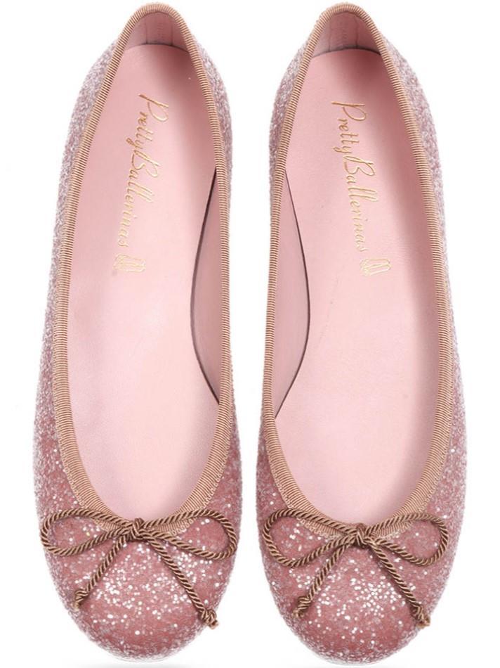 Hypericum|ורוד|נעלי בובה|נעלי בלרינה|נעליים שטוחות|נעליים נוחות|ballerinas