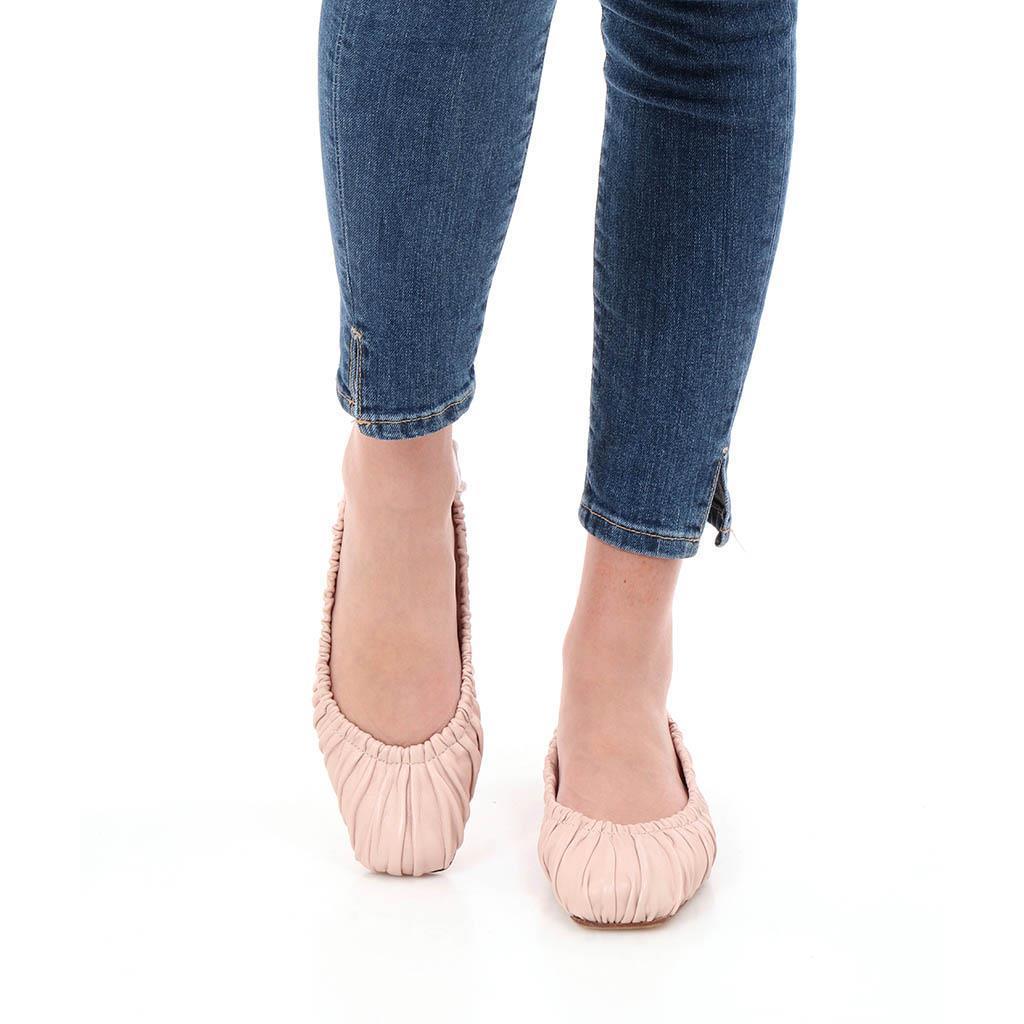 Kristen ורוד נעלי בובה נעלי בלרינה נעליים שטוחות נעליים נוחות ballerinas