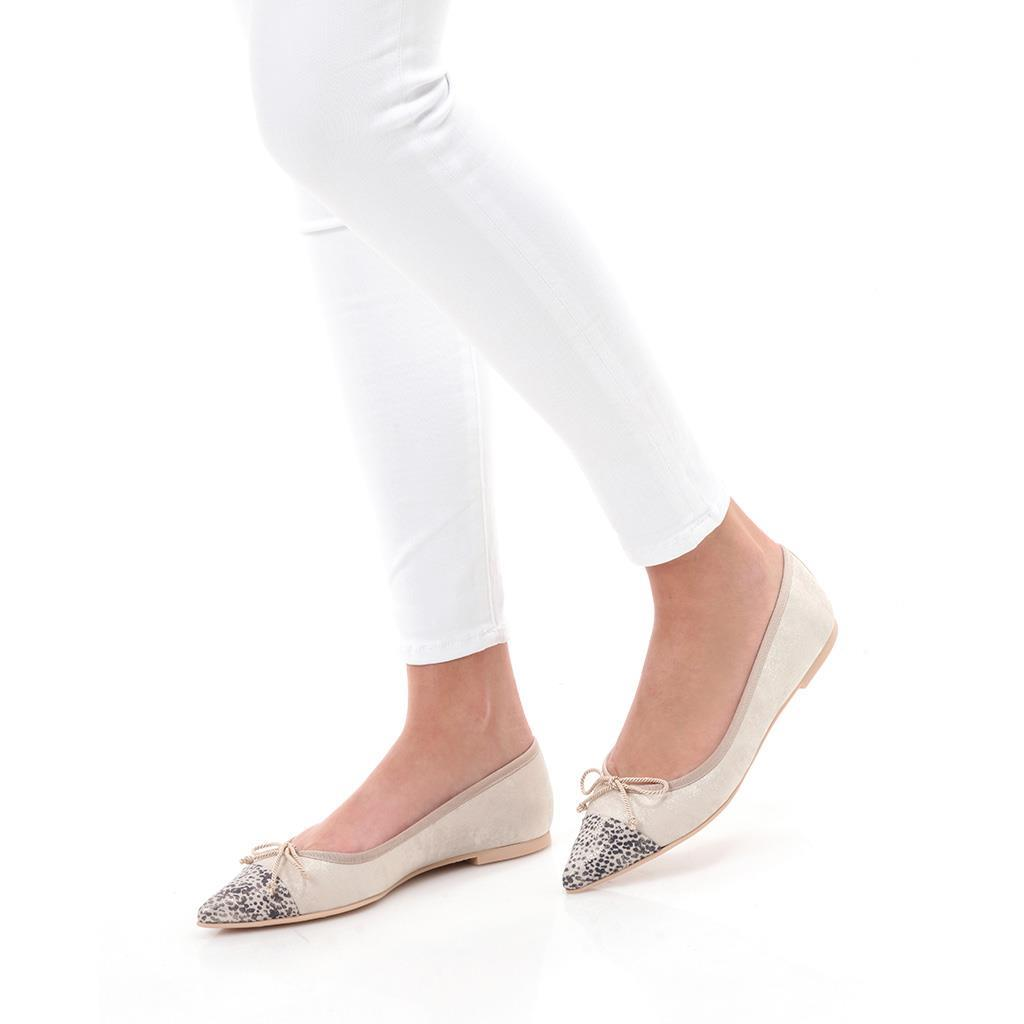 Ella אבן כסף נעלי בובה נעלי בלרינה נעליים שטוחות נעליים נוחות ballerinas