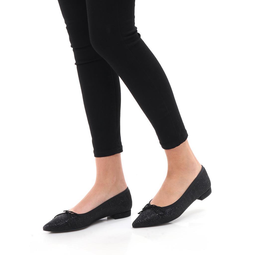 Valery שחור נעלי בובה נעלי בלרינה נעליים שטוחות נעליים נוחות ballerinas