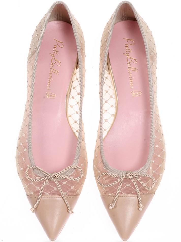 Ella|חום|ניוד|נעלי בובה|נעלי בלרינה|נעליים שטוחות|נעליים נוחות|ballerinas