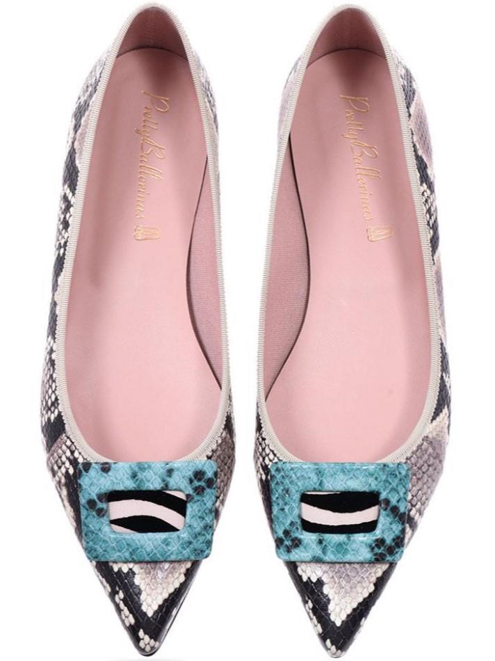 Ella|אפור|ניוד|חום|תכלת|שחור|נעלי בובה|נעלי בלרינה|נעליים שטוחות|נעליים נוחות|ballerinas
