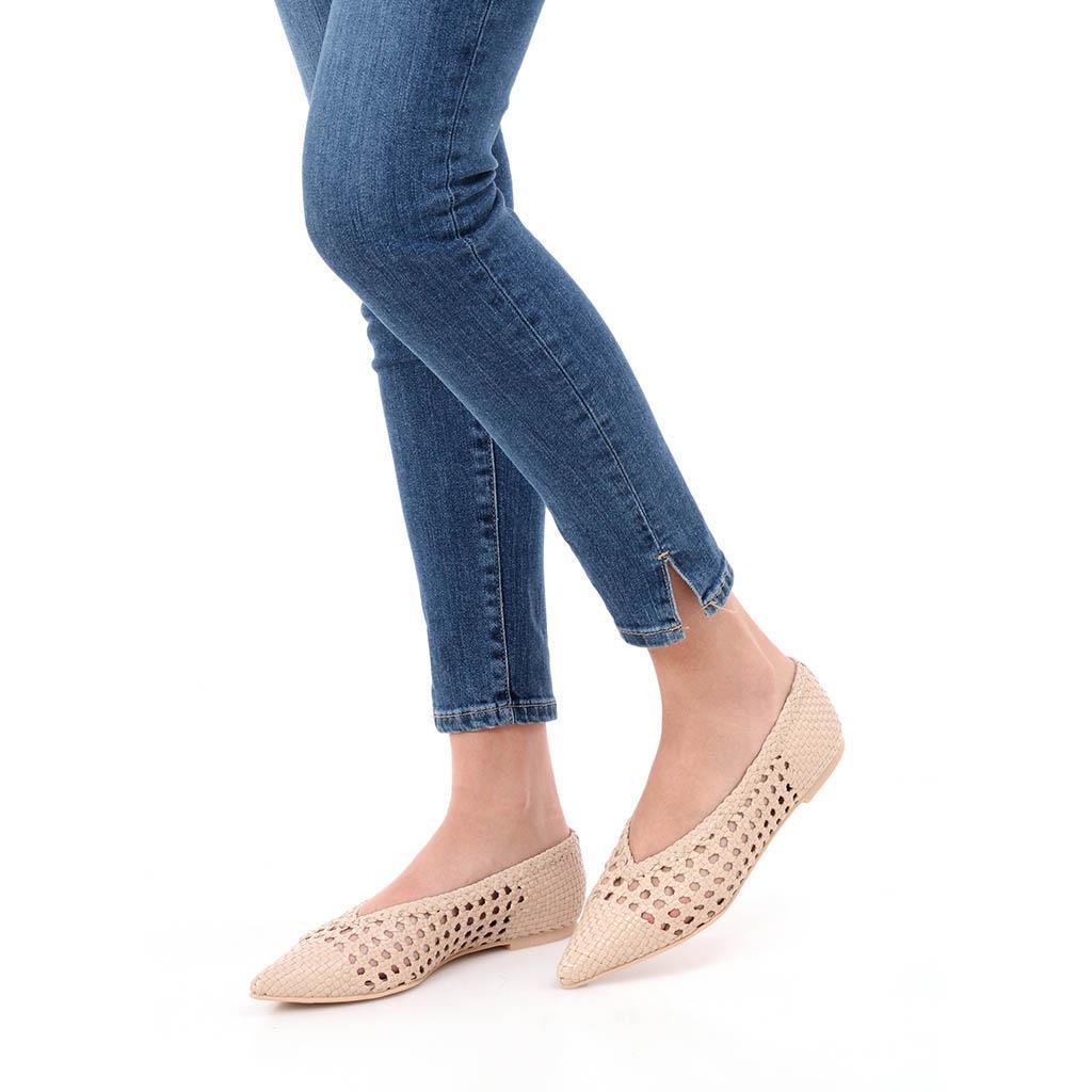 Ella ורוד נעלי בובה נעלי בלרינה נעליים שטוחות נעליים נוחות ballerinas
