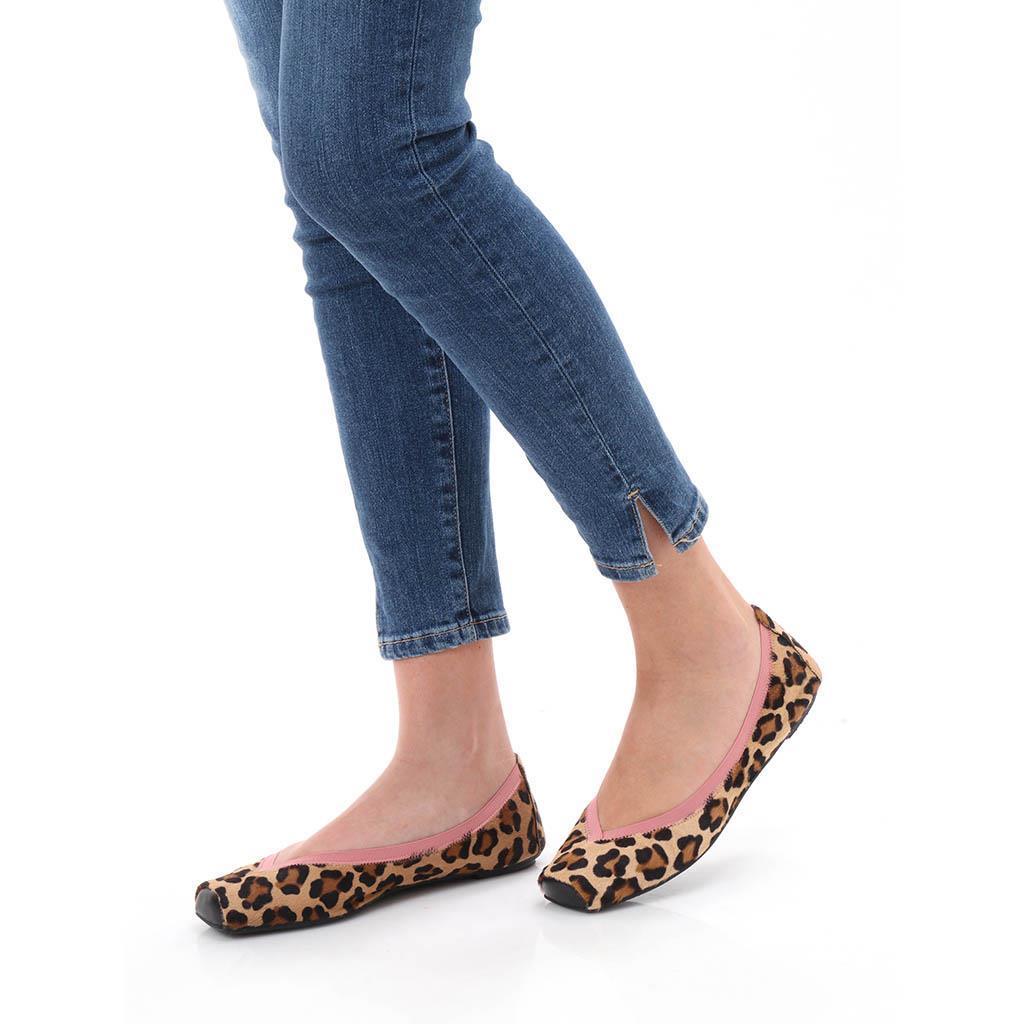 Karla|שחור|כאמל|נעלי בובה|נעלי בלרינה|נעליים שטוחות|נעליים נוחות|ballerinas