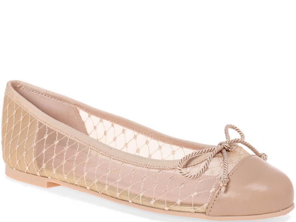 Marilyn|חום|ניוד|נעלי בובה|נעלי בלרינה|נעליים שטוחות|נעליים נוחות|ballerinas