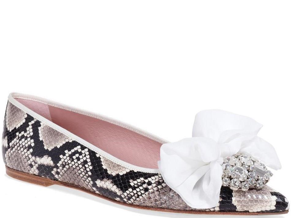 Vienna אפור ניוד חום אבן נעלי בובה נעלי בלרינה נעליים שטוחות נעליים נוחות ballerinas