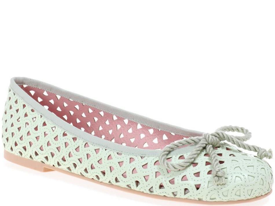 Rosario|ירוק|נעלי בובה|נעלי בלרינה|נעליים שטוחות|נעליים נוחות|ballerinas
