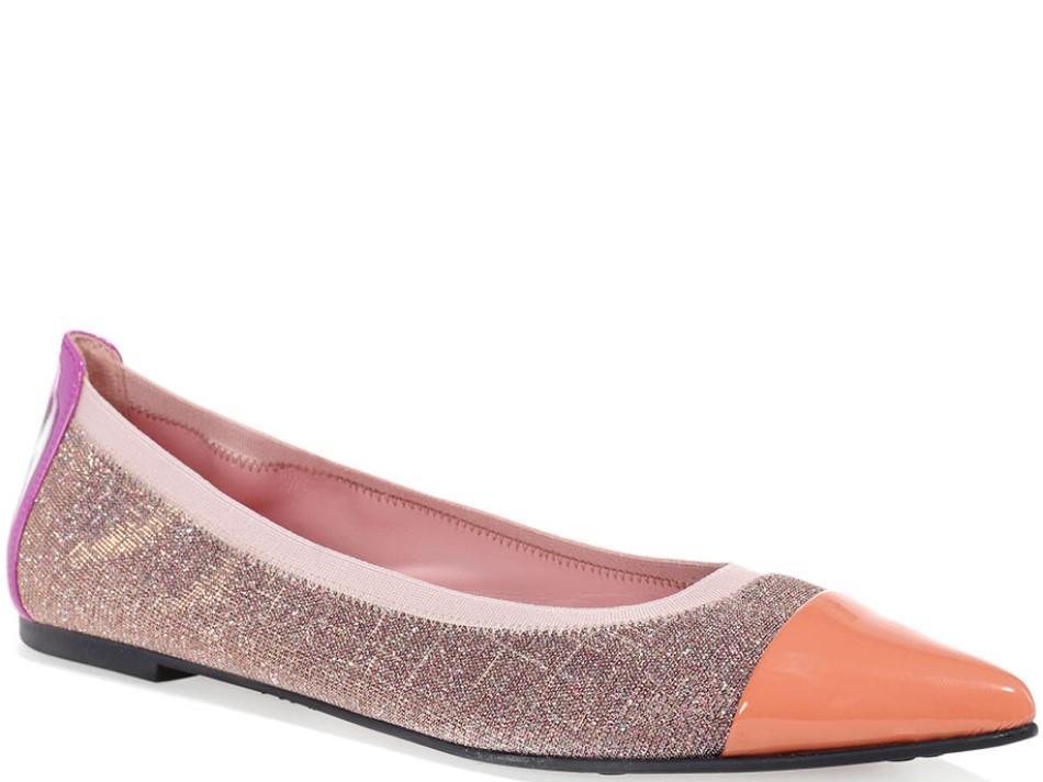 Megan|כתום|כסף|סגול|נעלי בובה|נעלי בלרינה|נעליים שטוחות|נעליים נוחות|ballerinas