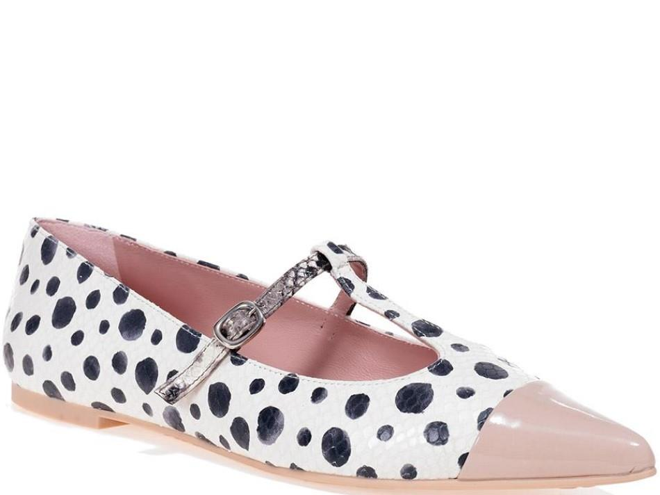 Ella ורוד לבן שחור נעלי בובה נעלי בלרינה נעליים שטוחות נעליים נוחות ballerinas