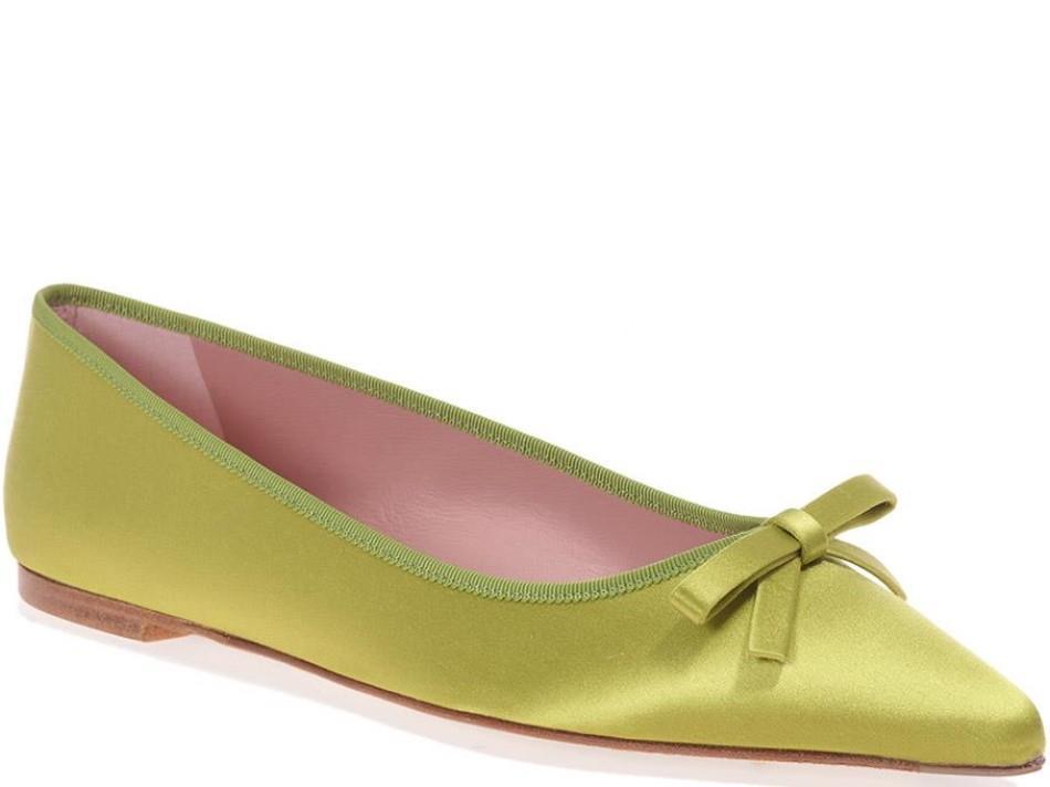 Ella|צהוב|נעלי בובה|נעלי בלרינה|נעליים שטוחות|נעליים נוחות|ballerinas