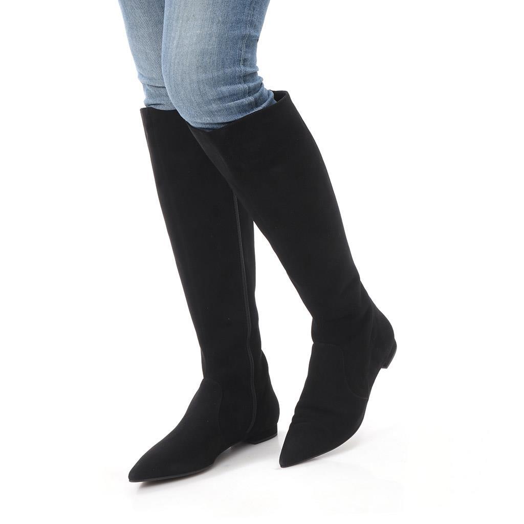 Alicia|שחור|מגפיים|מגפיים לנשים|מגפי עור לנשים