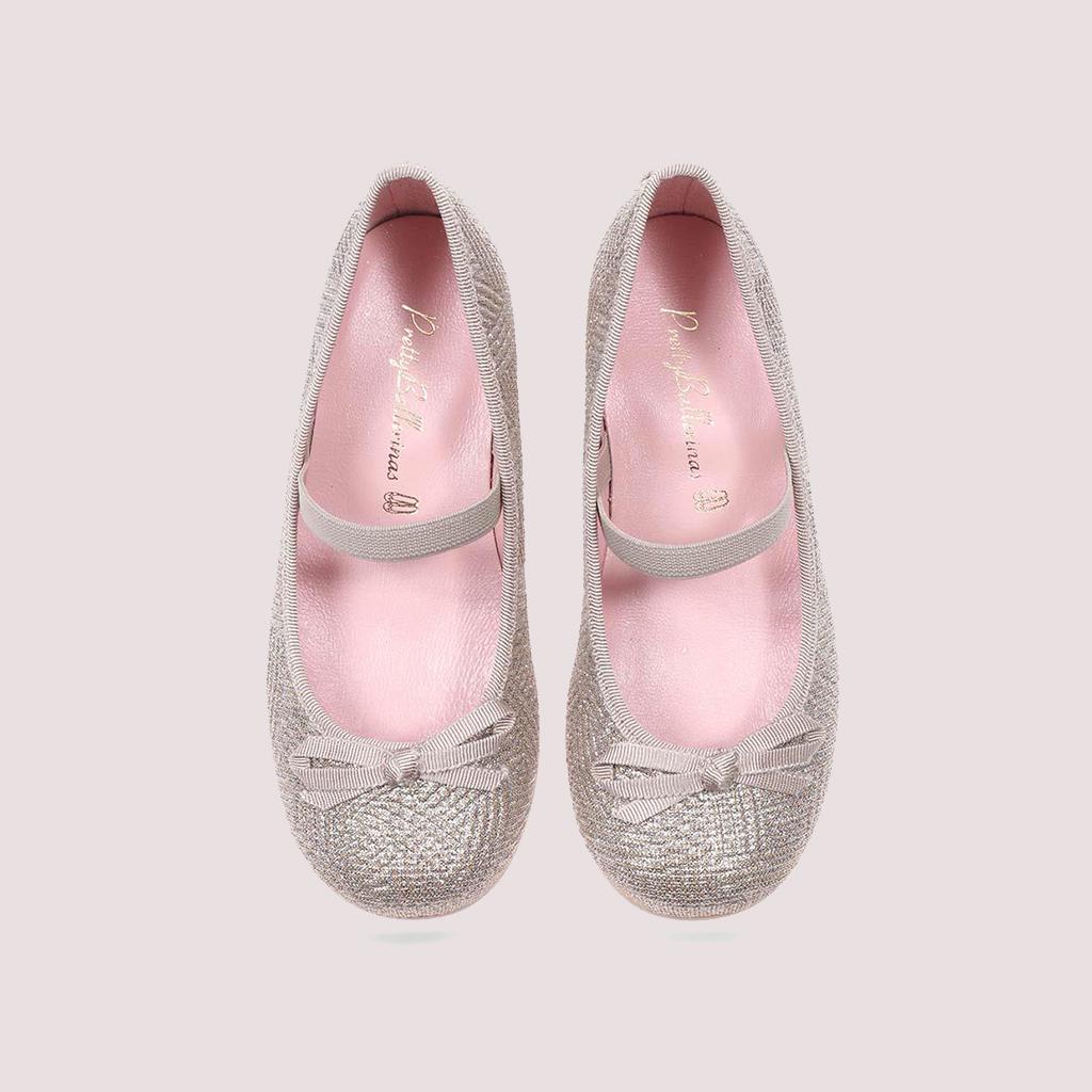 Emma|כסף|נעלי עקב לילדות|עקבים|עקב|Heels
