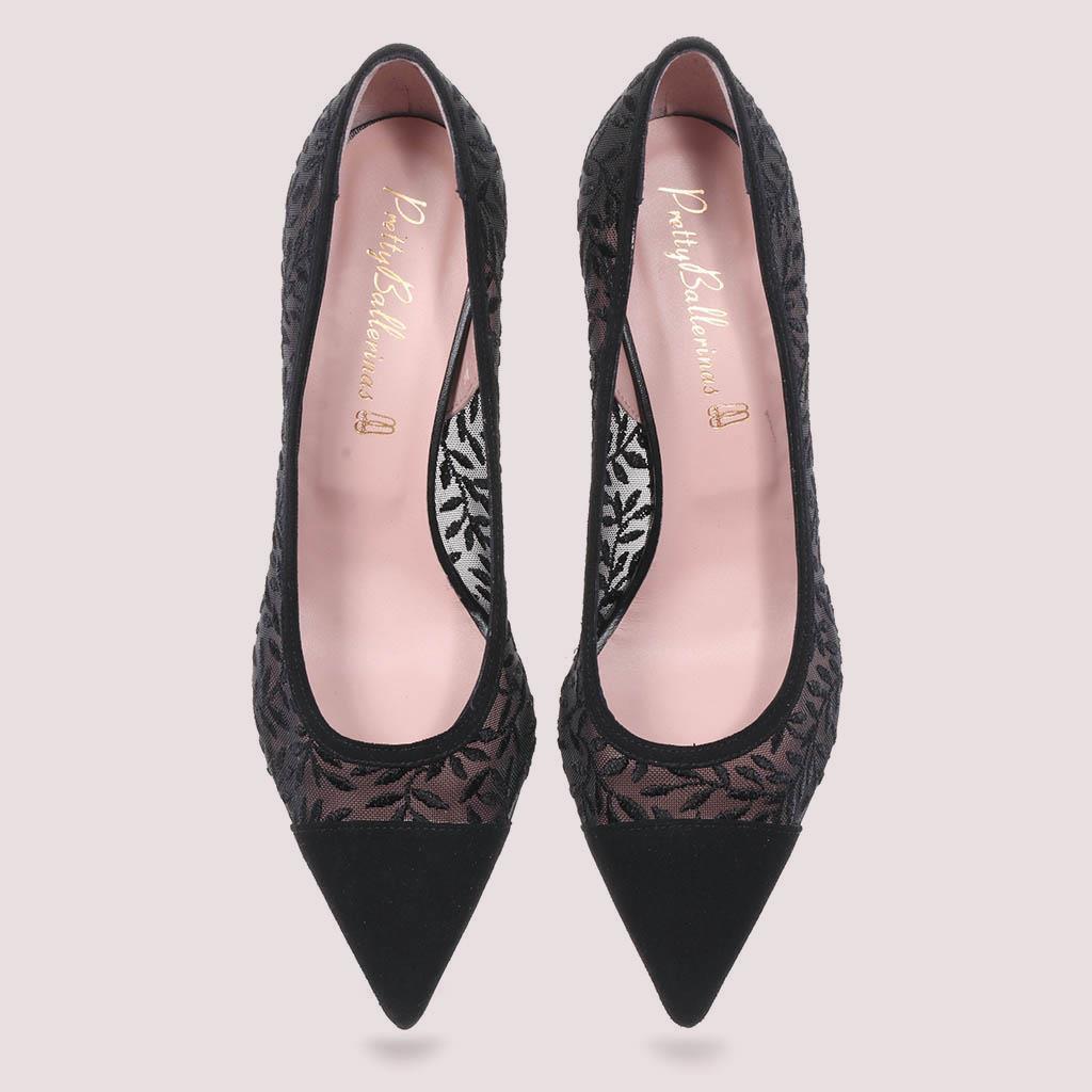 Phoebe|שחור|עקב|נעלי עקב|Heels