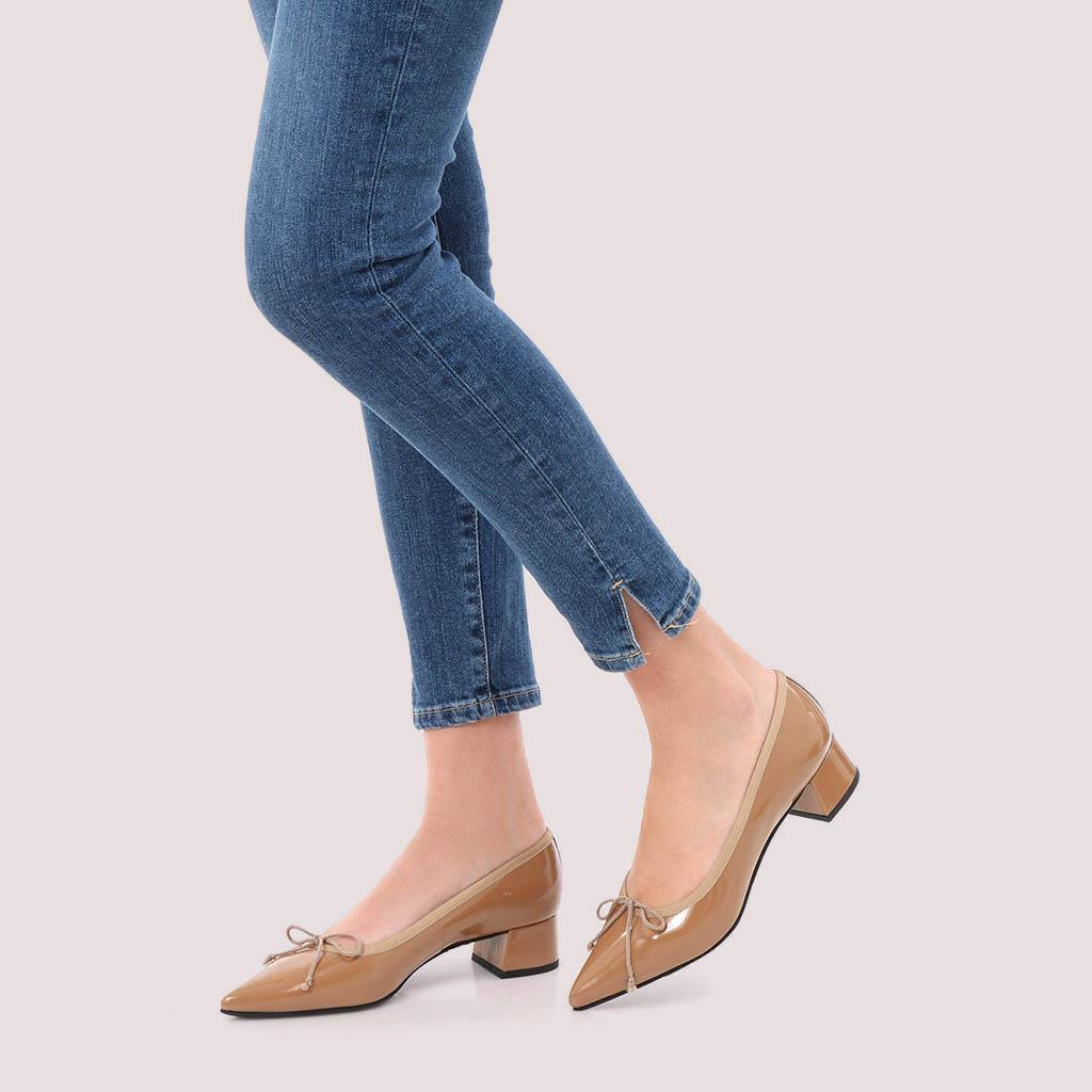 Kendall|חום|עקב|נעלי עקב|Heels