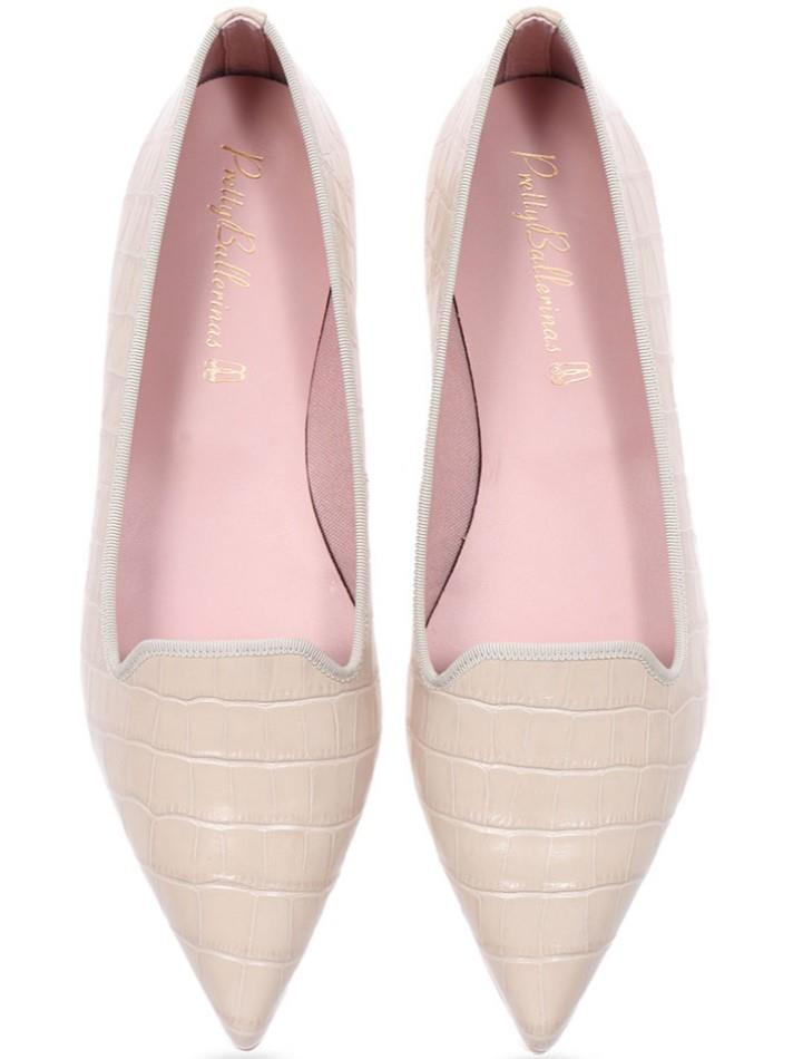 Elliot|אבן|נעלי בובה|נעלי בלרינה|נעליים שטוחות|נעליים נוחות|ballerinas