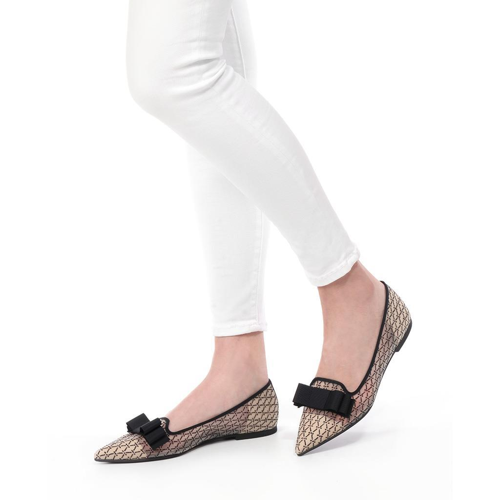 Ella|לבן|שחור|שקוף|נעלי בובה|נעלי בלרינה|נעליים שטוחות|נעליים נוחות|ballerinas