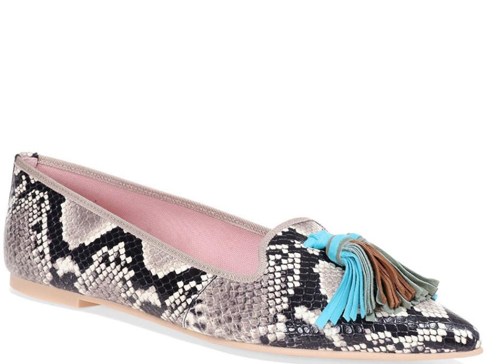 Jurnee אפור ניוד חום תכלת נעלי בובה נעלי בלרינה נעליים שטוחות נעליים נוחות ballerinas