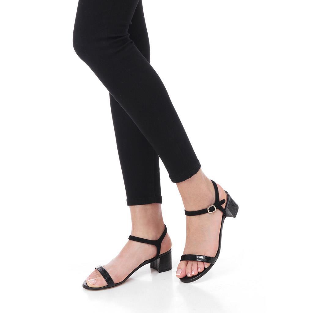 Cassie שחור סנדלים סנדל סנדלים לנשים