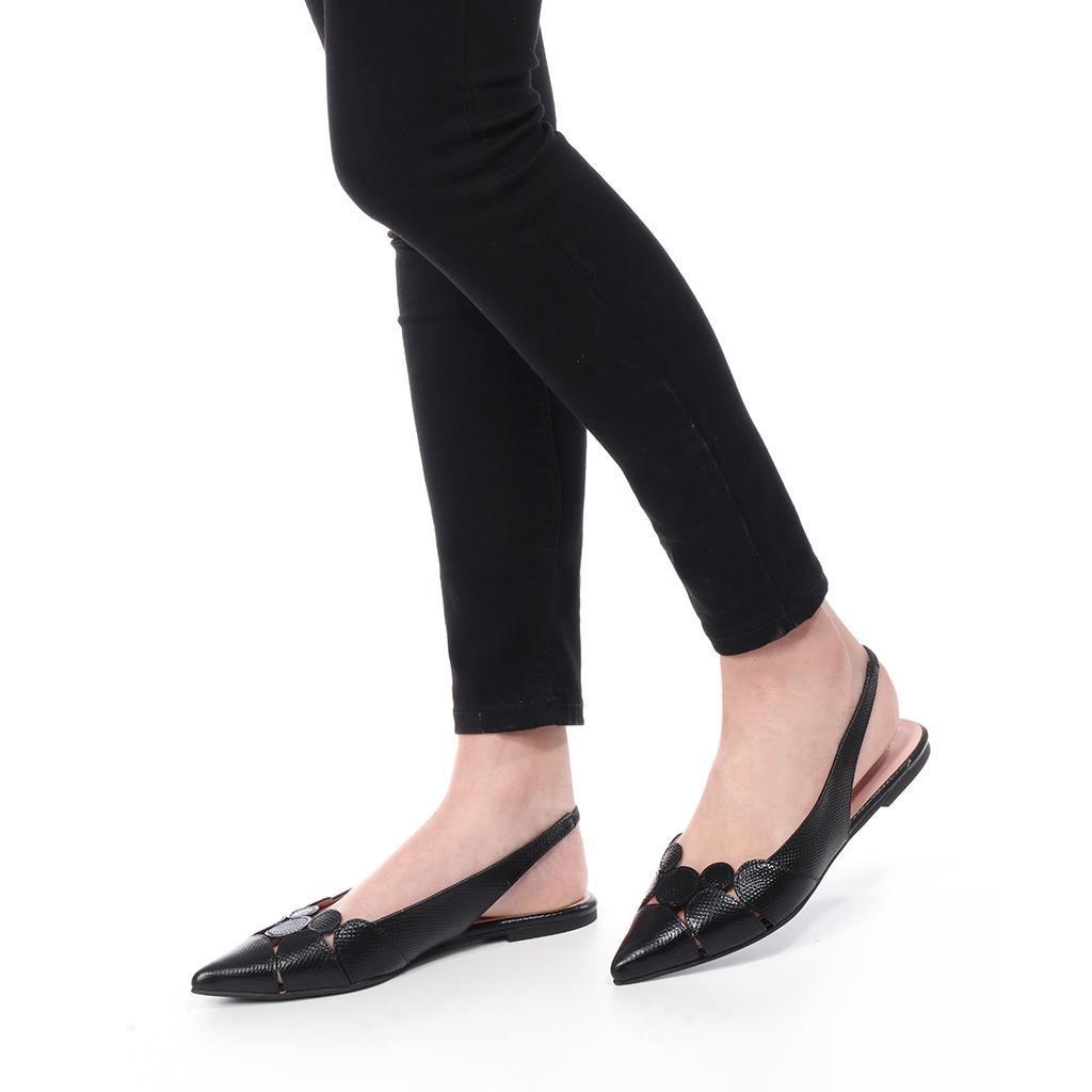 Ella שחור סנדלים סנדל סנדלים לנשים