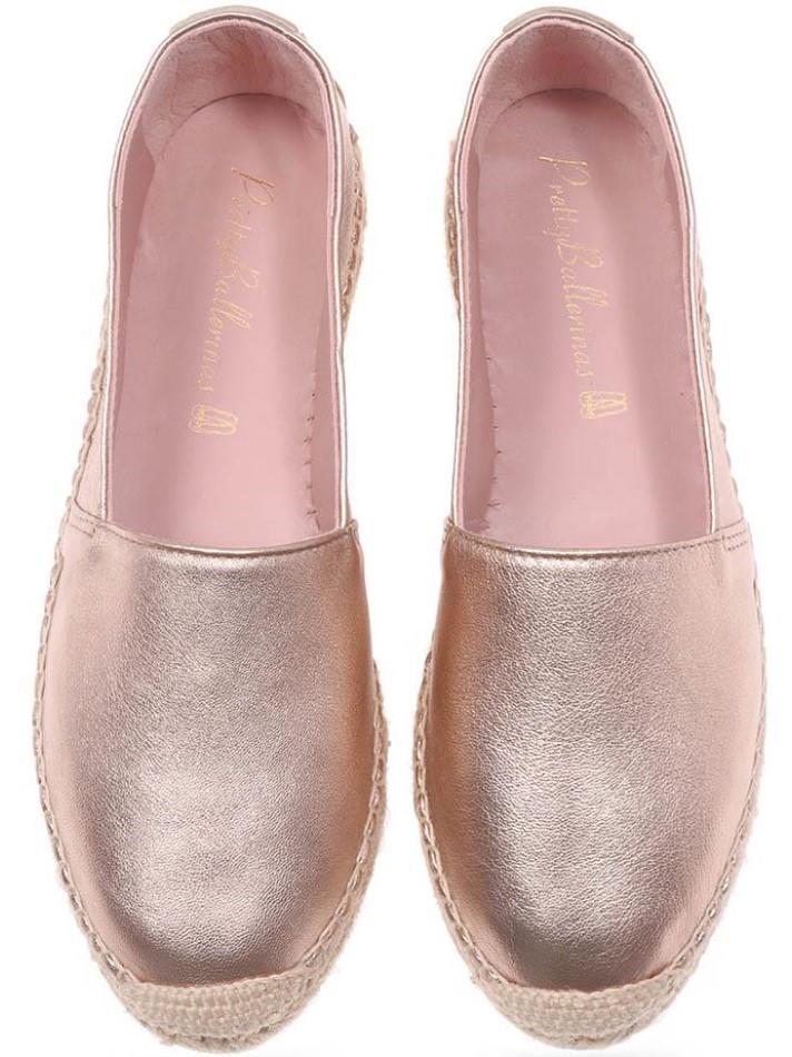 Athena|זהב|אספדריל|נעליים|נעליים שטוחות|shoes|espadrille