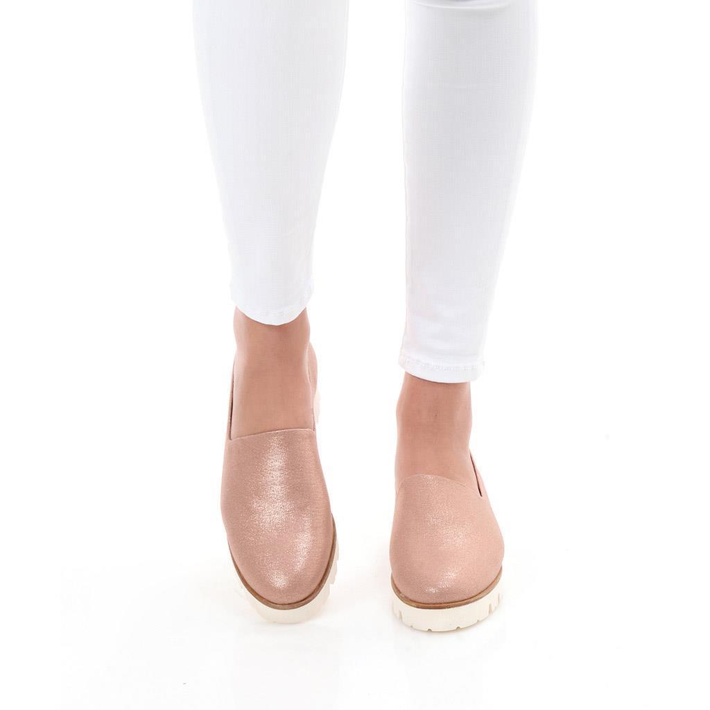 Hadlee|אבן|נעלי בובה|נעלי בלרינה|נעליים שטוחות|נעלי פלטפורמה|ballerinas