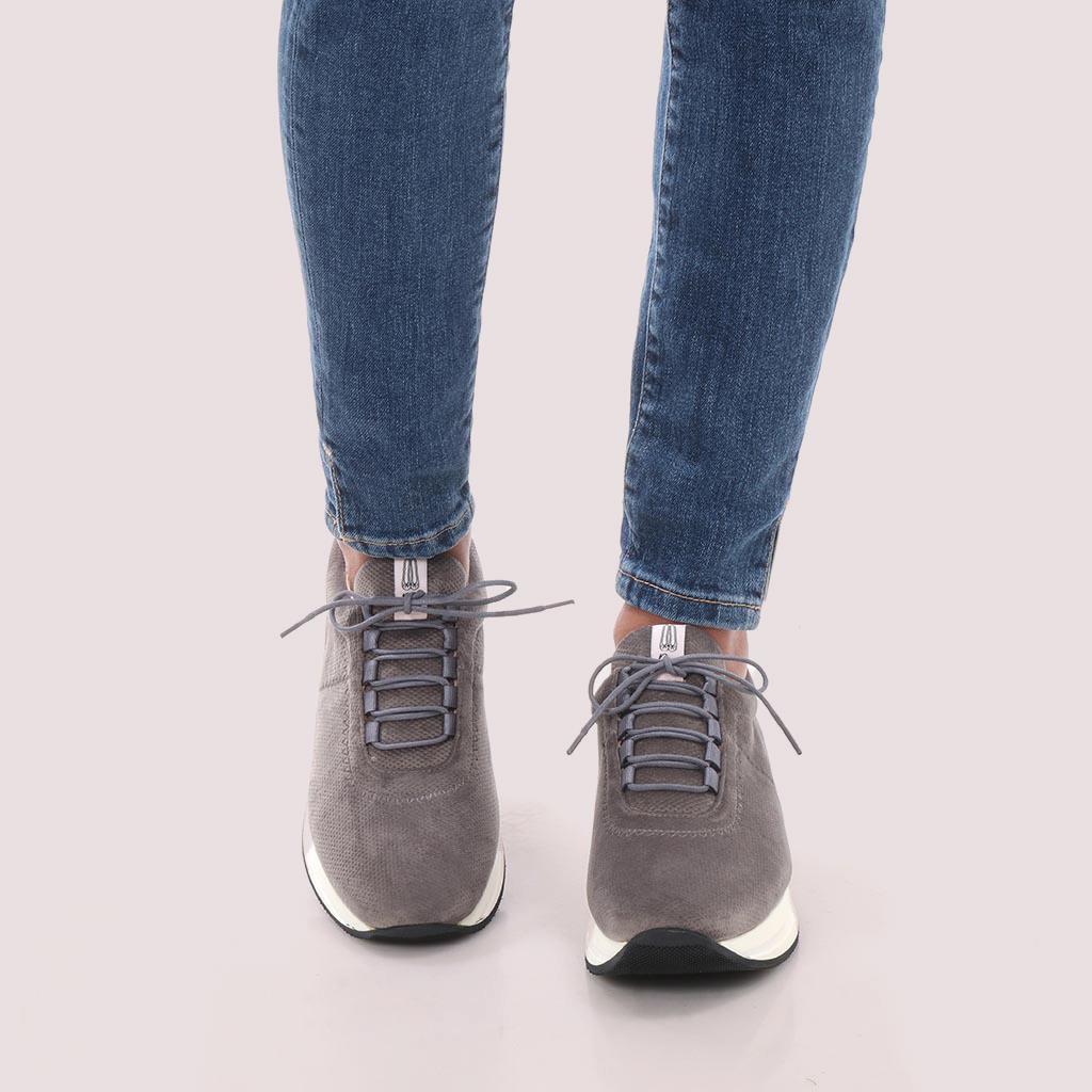 Parker|אפור|סניקרס|סניקרס לנשים|נעליים שטוחות