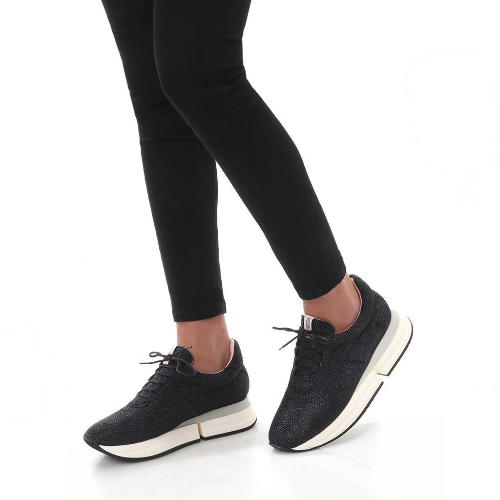 Finley|שחור|סניקרס|סניקרס לנשים|נעליים שטוחות