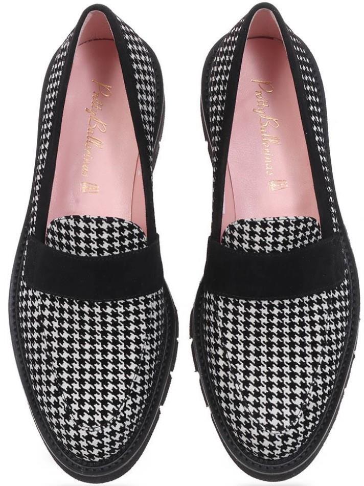 Milani|שחור|לבן|מוקסין|מוקסינים|נעליים שטוחות|moccasin