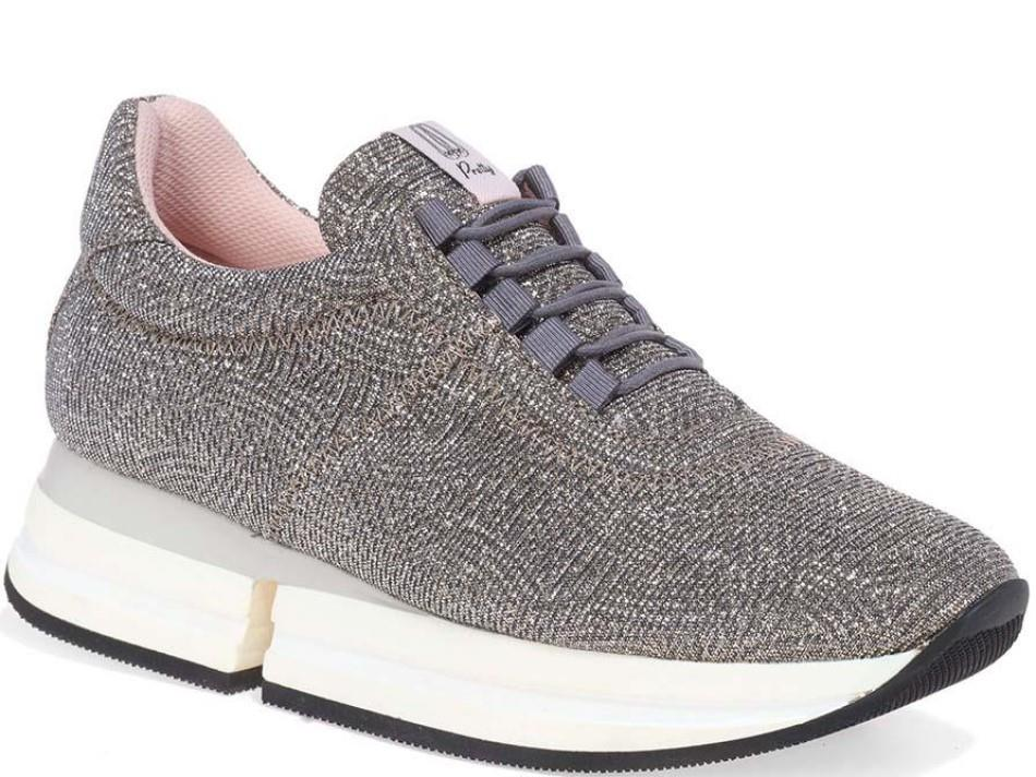 Morgan|כסף|סניקרס|סניקרס לנשים|נעליים שטוחות